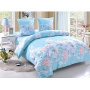 Комплект постельного белья Amore Mioиз поплина Olivia 2 - спальный, Amore Mio